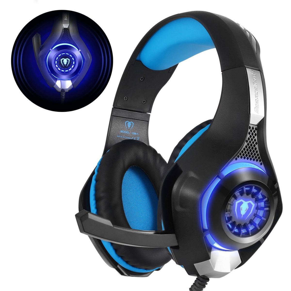 Review de los cascos gaming Beexcellent GM-1